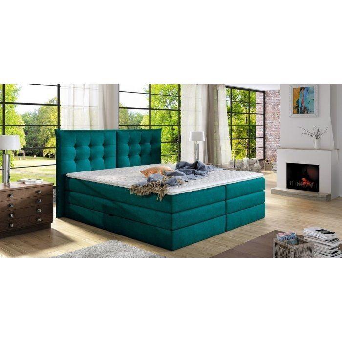 Łóżko kontynentalne Fendy - eleganckie i niezwykle komfortowe