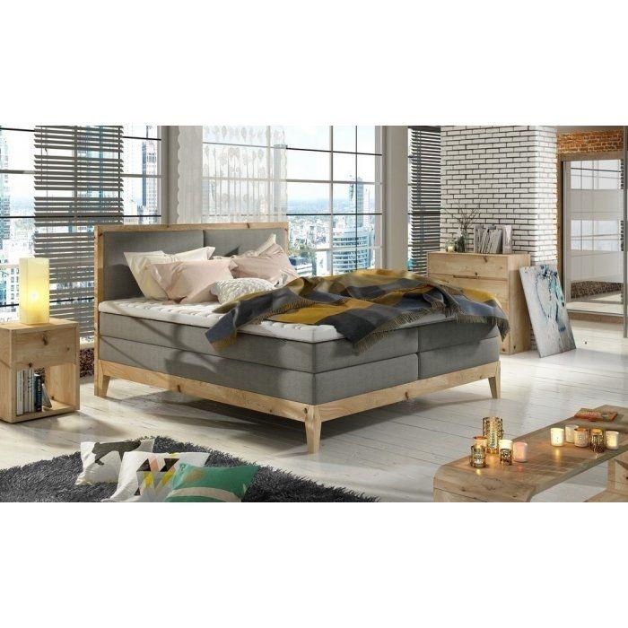 Dębowe łóżko Ida - zdjęcie