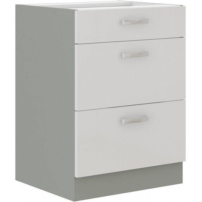 Szafka dolna szuflady 60 Bianca - zdjęcie