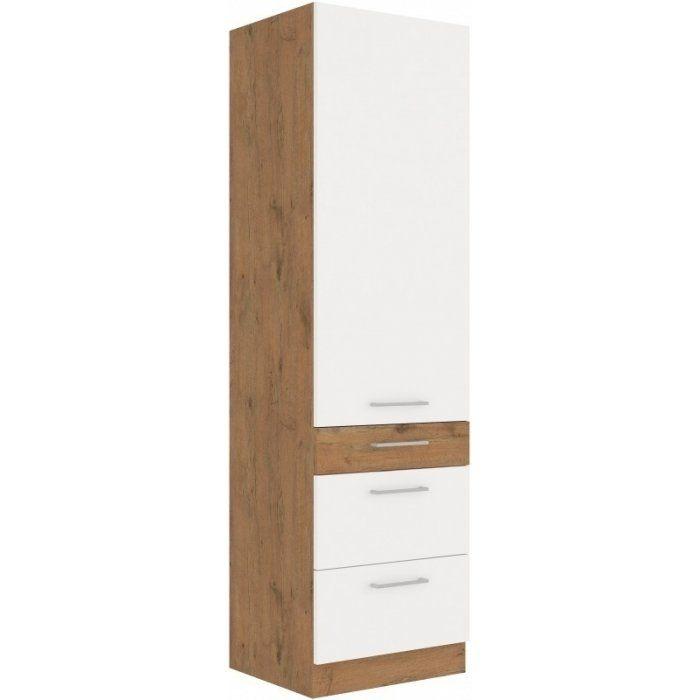 Szafka komin szuflady 60 Vigo Biały - zdjęcie