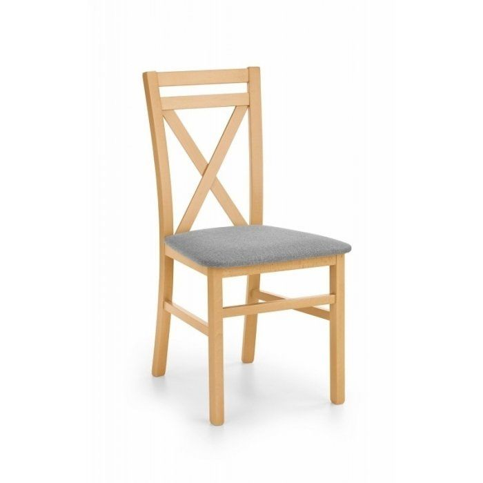 Krzesło DARIUSZ dąb miodowy - DARIUSZ krzesło dąb miodowy / tap: Inari 91 (1p 2szt)