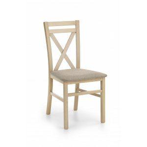 DARIUSZ krzesło dąb sonoma / tap: Inari 23 (1p 2szt)