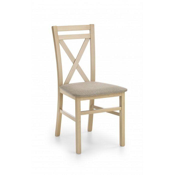 Krzesło DARIUSZ dąb sonoma - DARIUSZ krzesło dąb sonoma / tap: Inari 23 (1p 2szt)