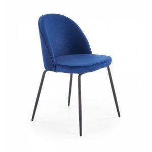 Krzesło K314 granatowy /...