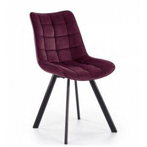 Krzesło K332 bordowy