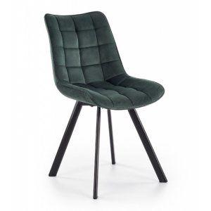 Krzesło K332 ciemny zielony