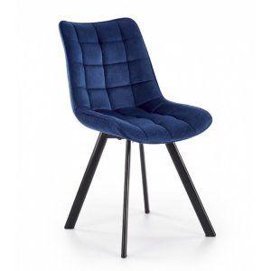 Krzesło K332 granatowy