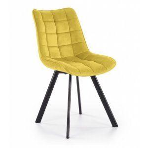 Krzesło K332 musztardowy