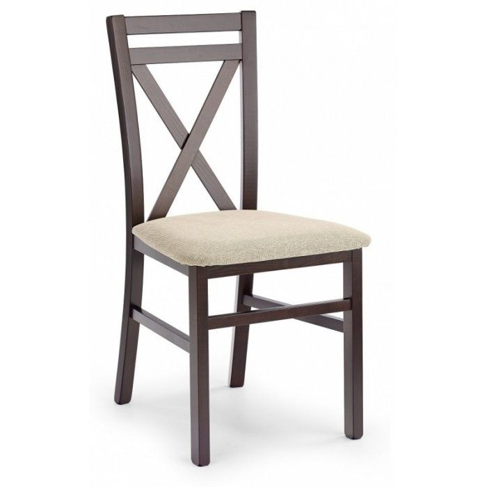 Krzesło DARIUSZ ciemny orzech - zdjęcie