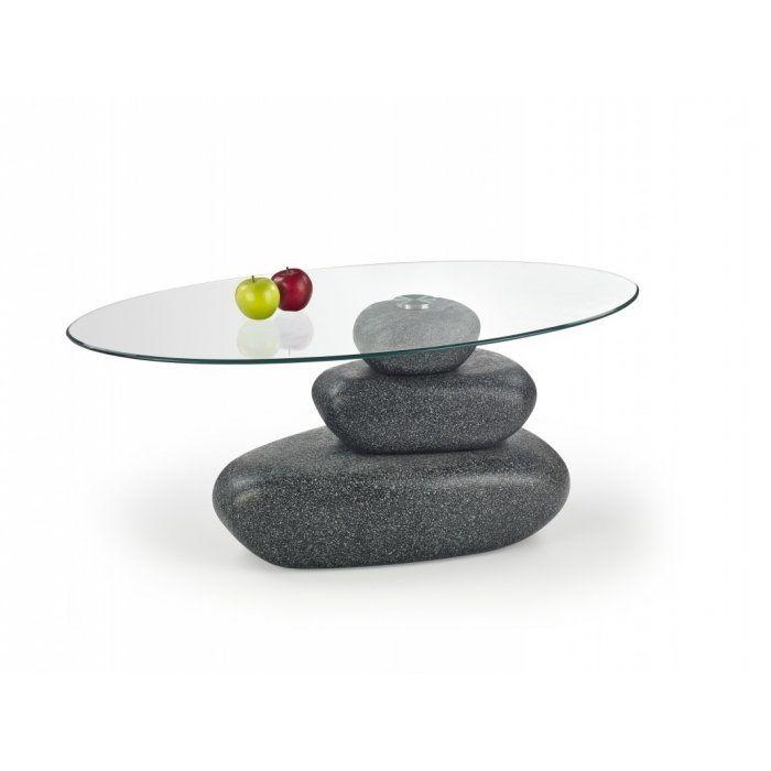 FLAVIA ława stone efect popiel (2p 1szt)