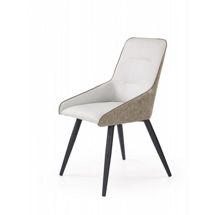 K243 krzesło jasny beton / popiel (1p 2szt)