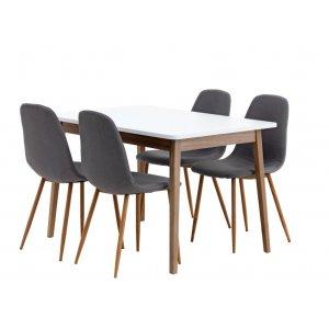 Nowoczesne zestawy stół + krzesła
