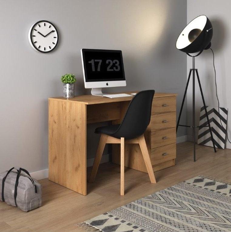 Biurko Leon z designerskim krzesłem Fiord