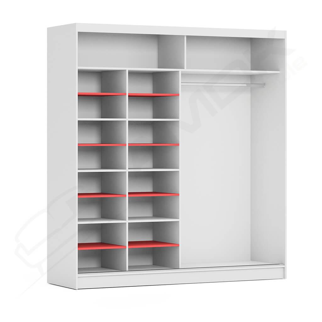 Dodatkowe półki - podgląd