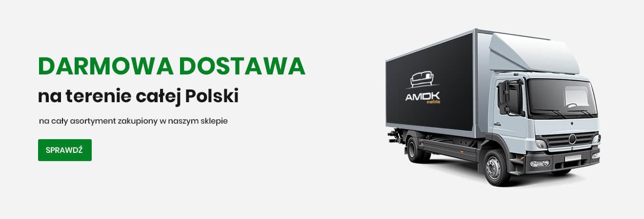 Darmowa dostawa na terenie calej Polski - na cały asortyment